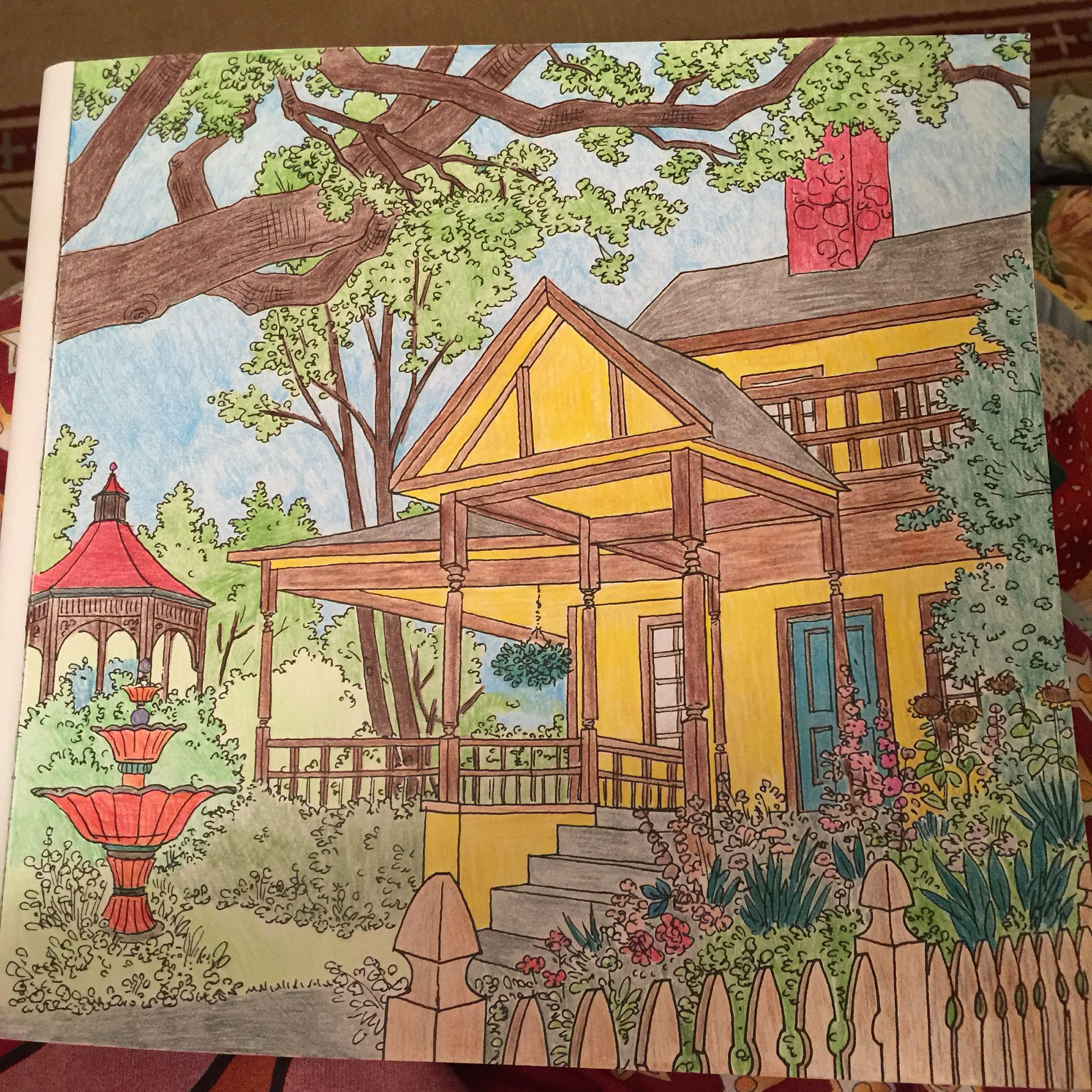 debbie macomber coloring book pages - debbie macomber 39 s come home to color colored by tw