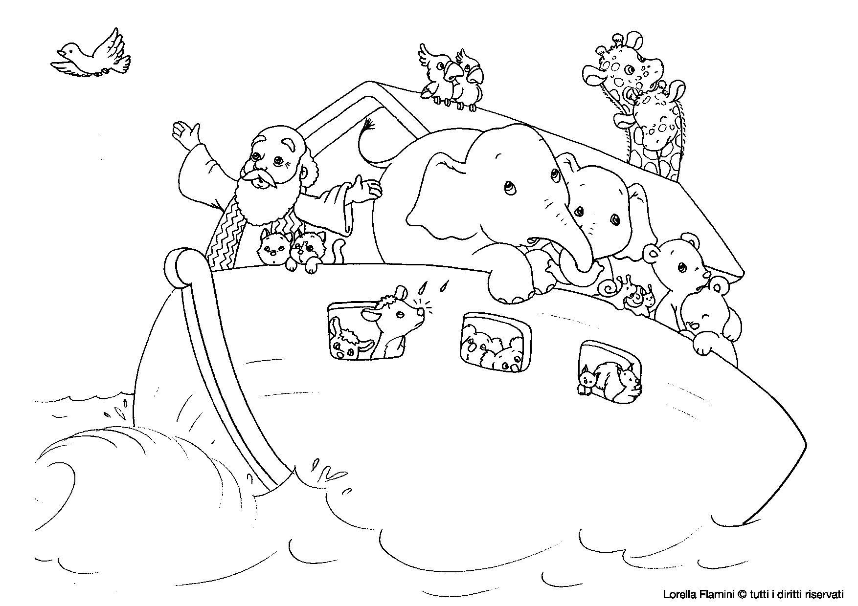 Arca Di Noe Da Colorare.Risultati Immagini Per Disegni Di Noe Da Colorare Disegni