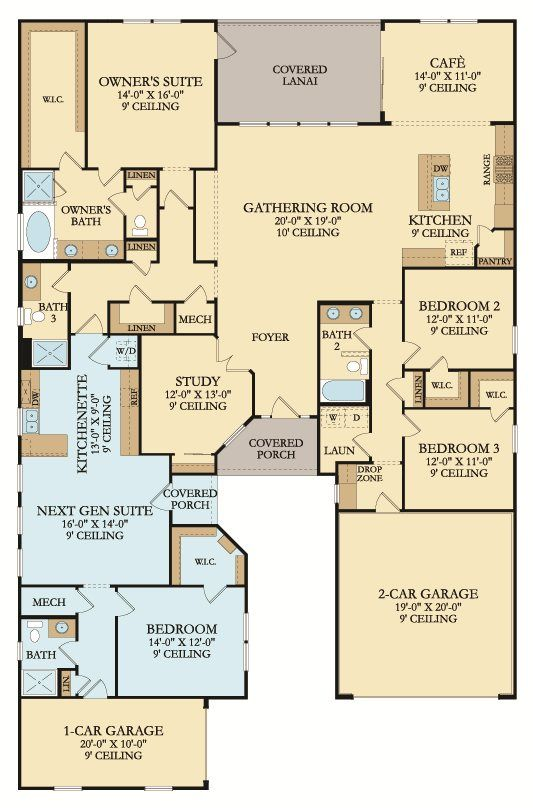 Genesis New Home Plan in Windward Ranch Executive Collection