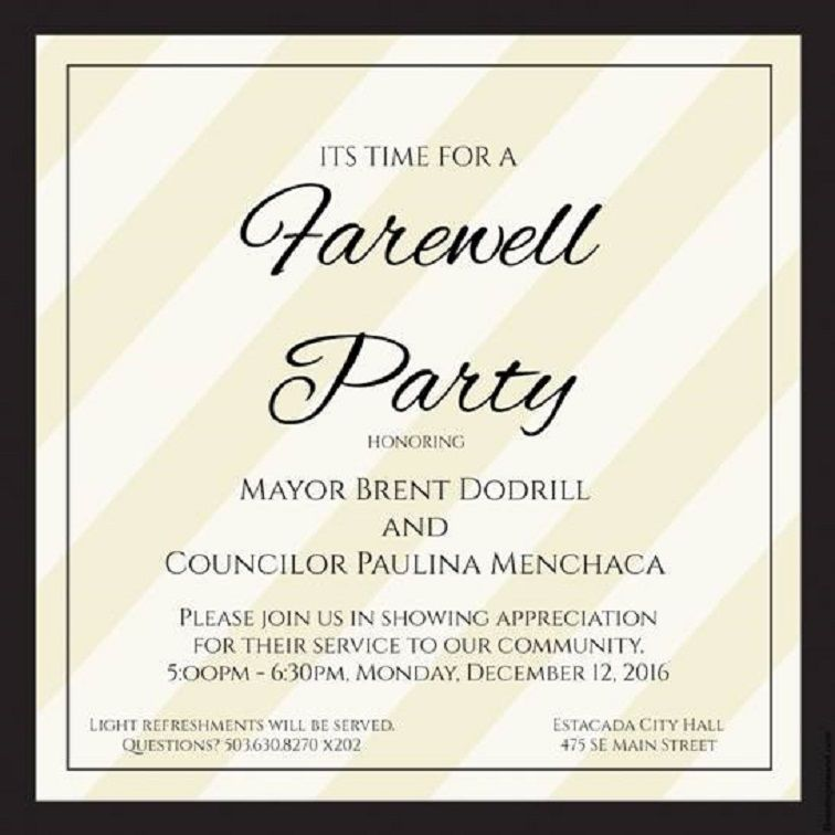 farewell party invitation please join us