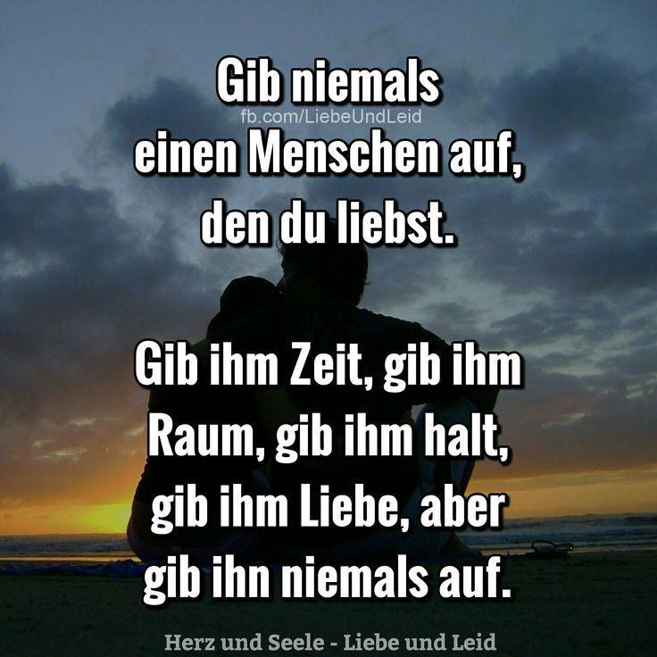 #Auf #einen #Gib #Menschen #niemals       Gib niemals einen Menschen auf...  Besucht uns auch auf ---> www.herz-und-seel...