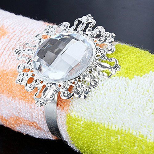 Vintage Style Bling Napkin Rings Serviette Holder Wedding Party Banquet Table Dinner Decor Adornment http://www.amazon.com/dp/B00NL5QFBY/ref=cm_sw_r_pi_dp_gdmDwb01C4767