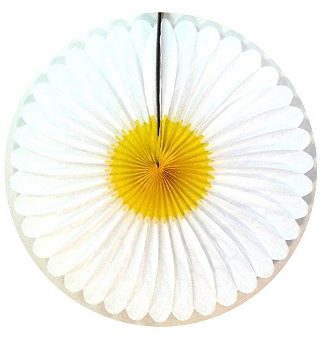 "3-pack 20"" Honeycomb Tissue Paper Daisy Flower Fan (White... http://www.amazon.com/dp/B00U542CK2/ref=cm_sw_r_pi_dp_yKOjxb1SNMXC8"
