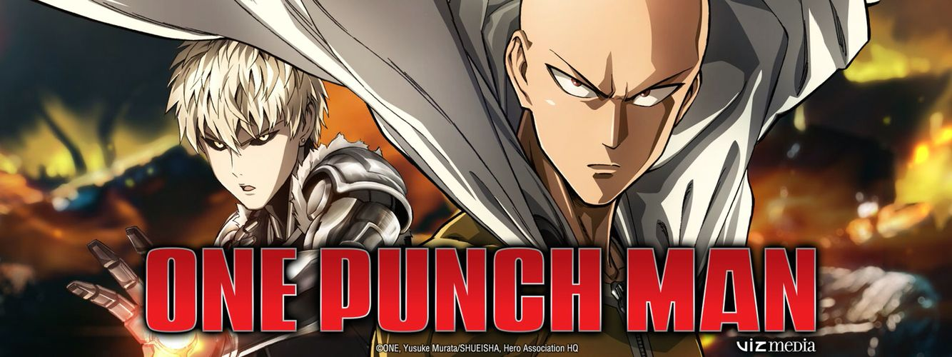 Genos and Saitama One punch man anime, One punch man