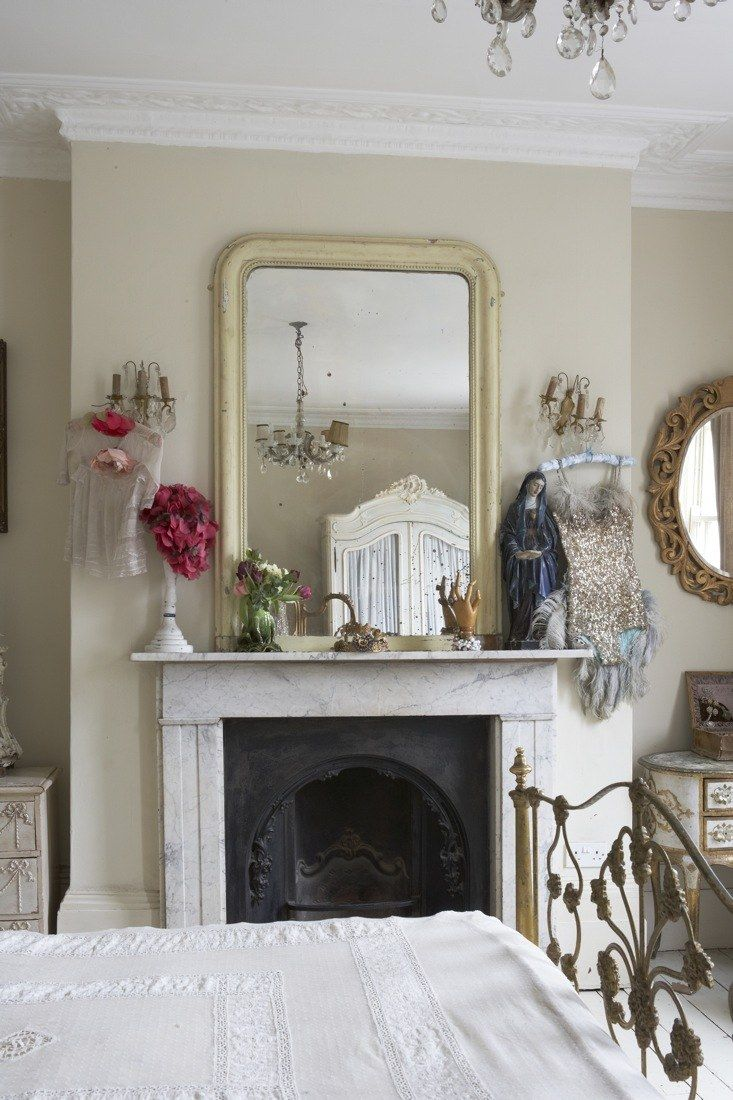 Love this room big mirrors above fireplaces are perfect gorgeous