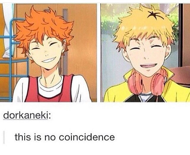 Hide Didn T Die He Just Found His Inner Love For Volleyball And Orange Hair Dye Haikyuu Anime Crossover Otaku Anime