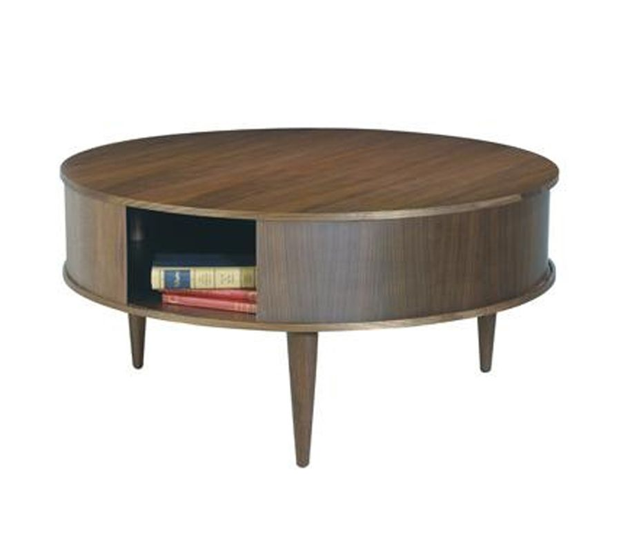 Small Round Coffee Table With Storage Round Wooden Coffee Table