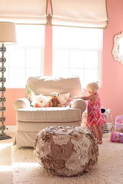 Presley's Modern Bohemian Pink Nursery {Featured Real Room} | Chic & Cheap Nursery™