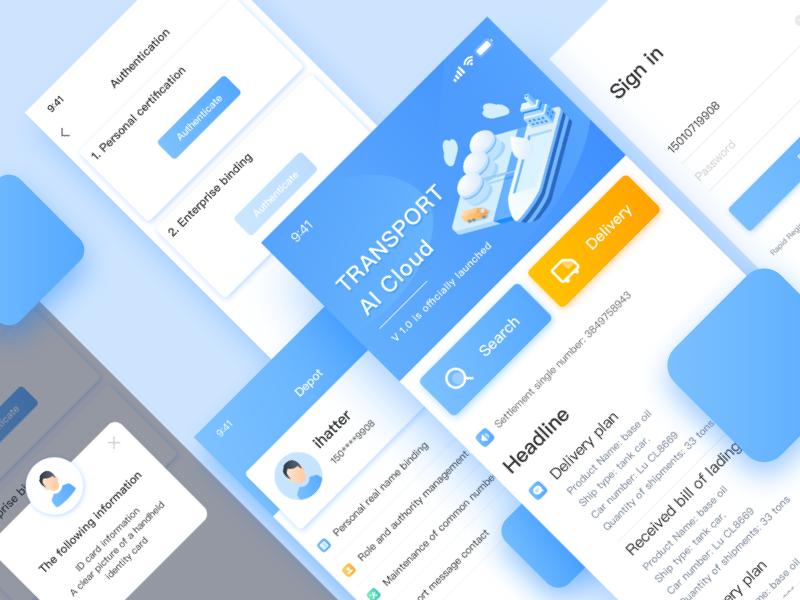 Freightage App App App Design How To Plan