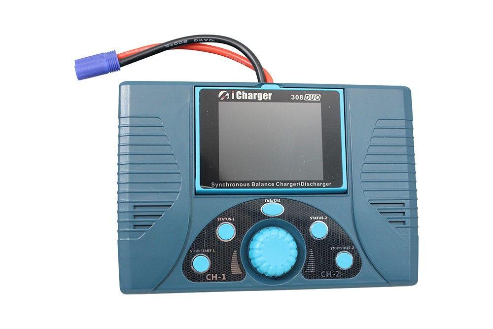 iCharger 308 Duo 1300W 30A 8S Dual Port Lipo Balance
