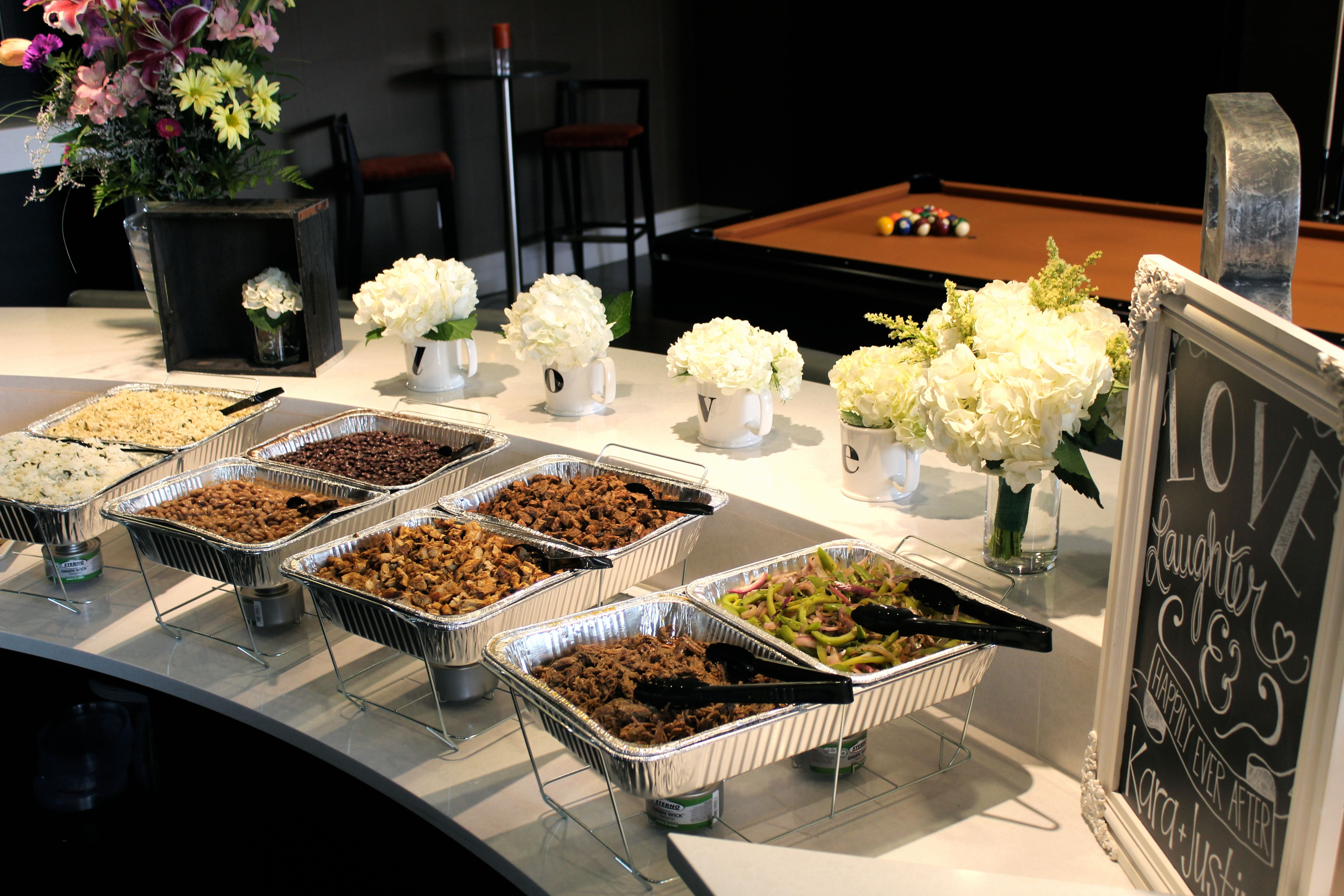Wedding Food Ideas Get Creative I Do Knot: Chipotle Catering: Showering You And Your Friends With