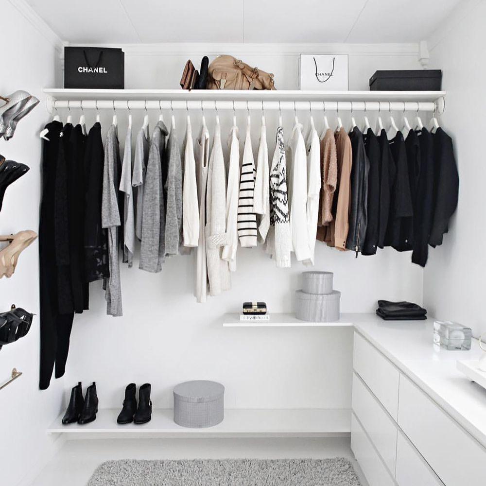 SO einfach & günstig kannst du einen begehbaren Kleiderschrank selber bauen