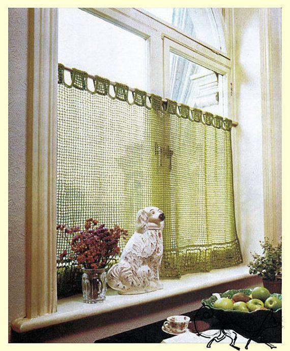 Instant Pdf Download Vintage Crochet Pattern To Make By Ickythecat