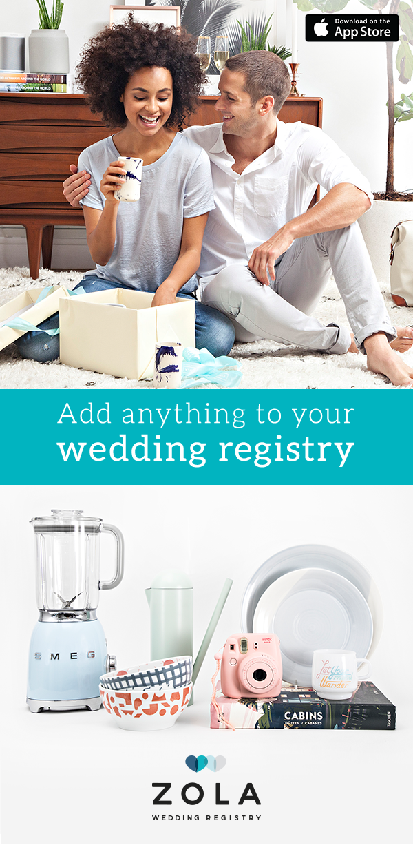 It S The Wedding Registry That Will Do Anything For Love Install Zola And Create Cust Zola Wedding Registry Unique Wedding Hairstyles Gorgeous Wedding Makeup