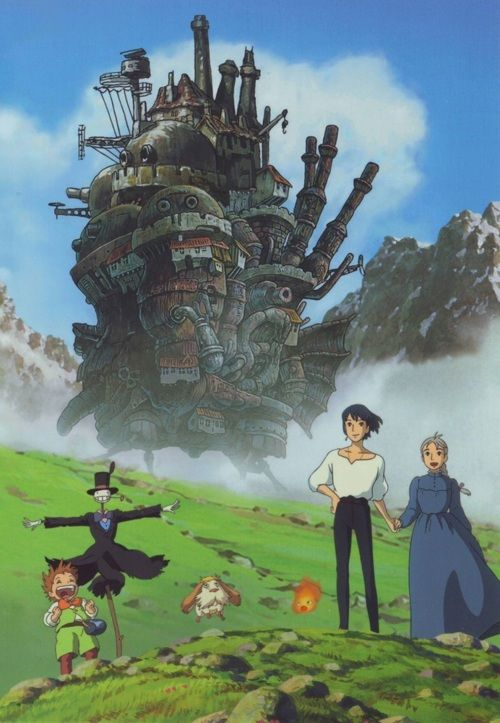 Howls Moving Castle | Tumblr | Cause they make me happy ...