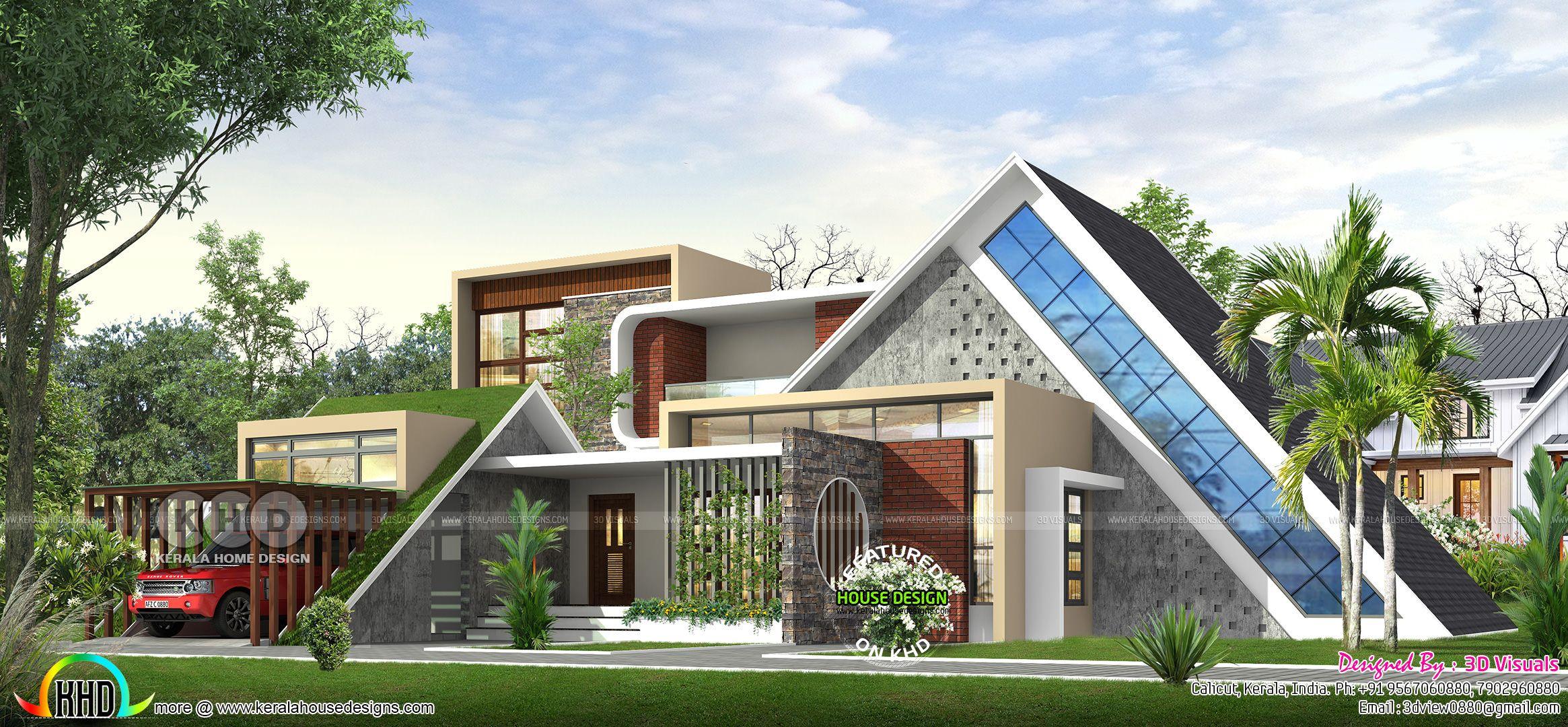 Variety design 4 bedroom ultra modern house | Duplex house ...