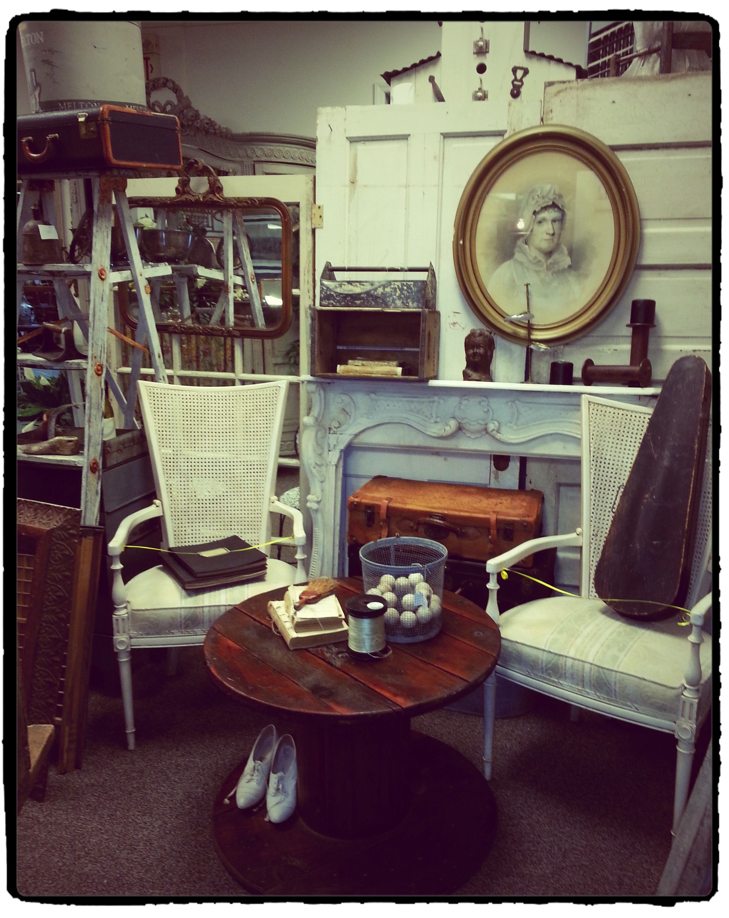 A peek at some of the new items added to the antique shop