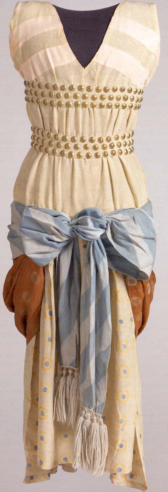 Léon Bakst - Ballets Russes - Costume - Femme Syrienne - Cléopâtre - 1909