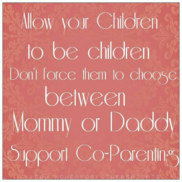 Divorced Parents - your kids need both of you! Call for a FREE ...