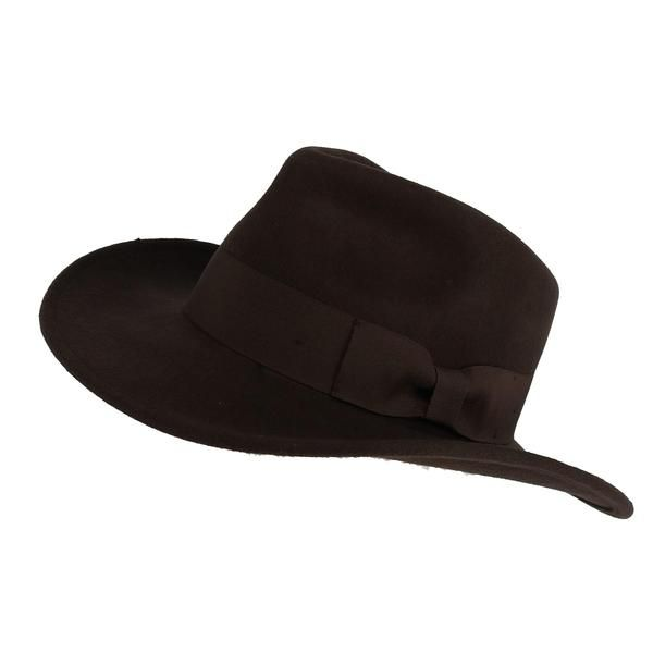 This Indiana Jones inspired hat features a 3-inch brim and a pinch front  crown. There is an interior sweatband to keep you cool and comfortable and  this hat ... e938d81c4cc3