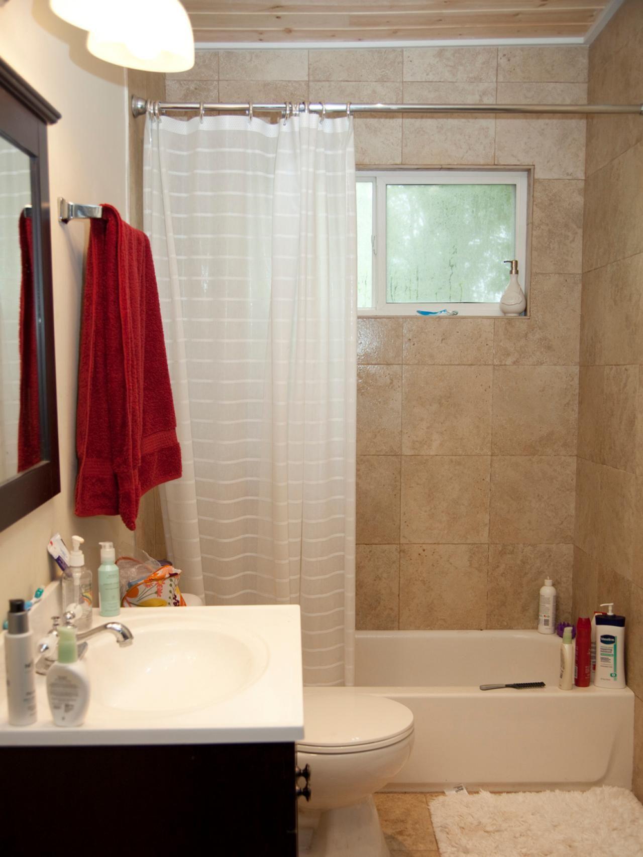Kleines Bad Makeovers Moderne Kleine Bader Kleine Badezimmer Design Bad Renovieren