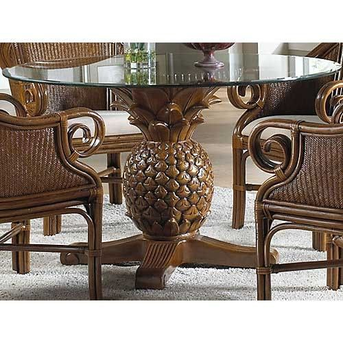 Pelican Reef Sunset Reef Indoor Rattan And Wicker Pineapple