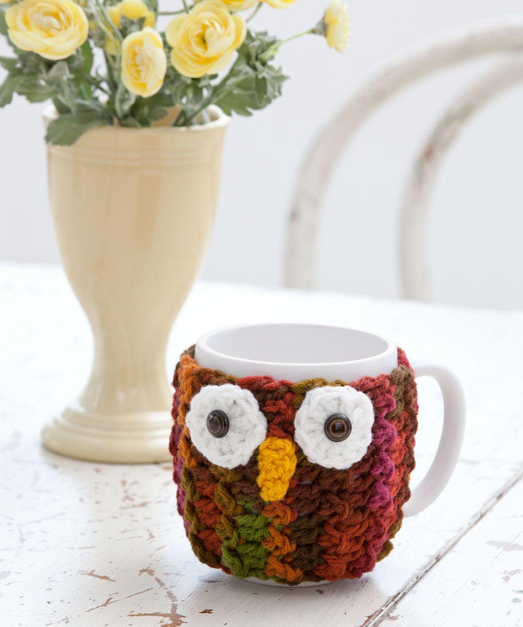 Owl Mug Wrap   Owls - Craft   Pinterest   Brillo, Familias y Tejido