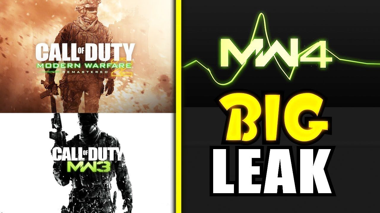 Biggest New Mw4 Leaks Mw2 Remastered Mw3 Remastered Coming Modern Warfare Call Of Duty Warfare