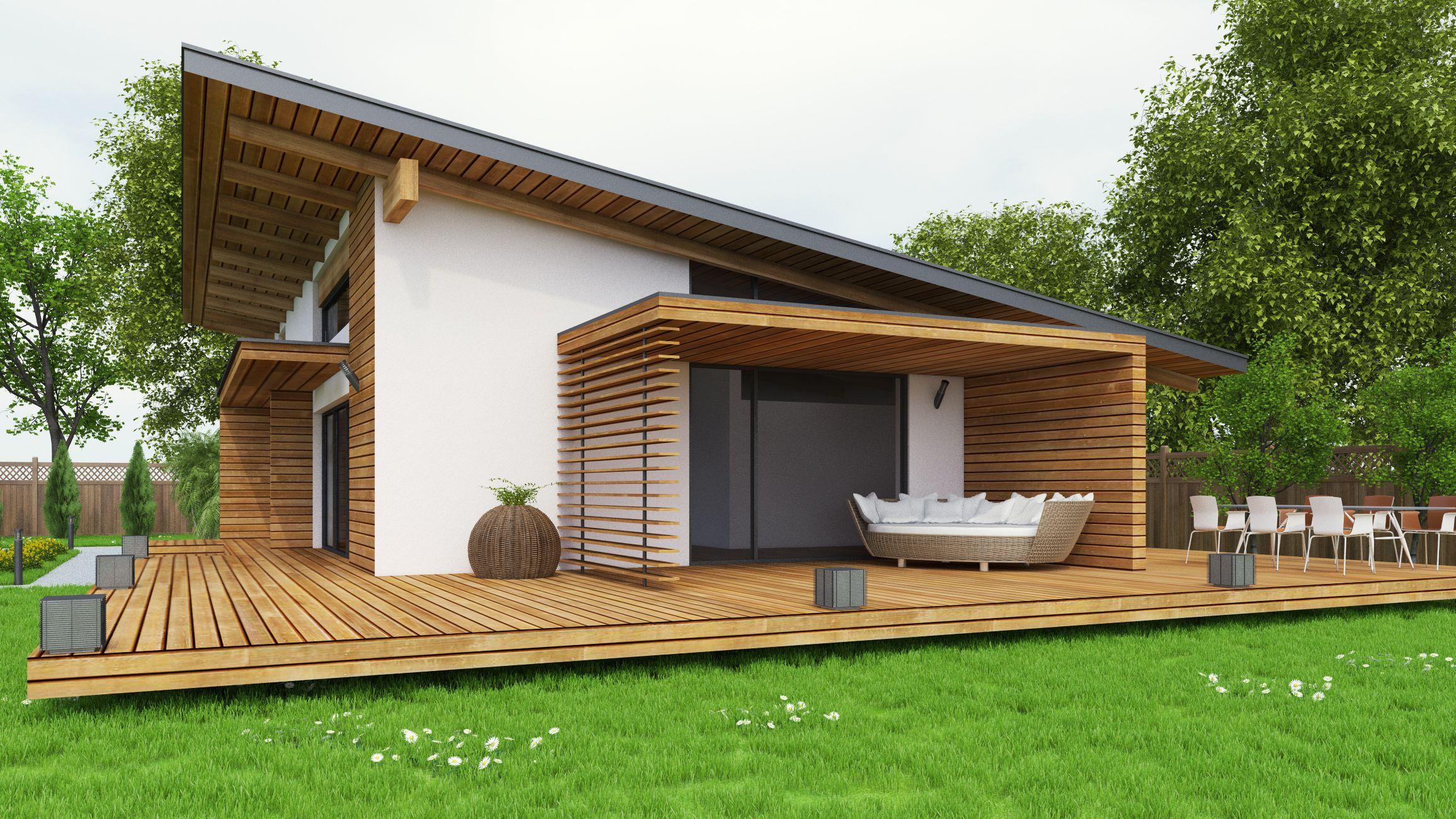 Maison ossature bois et revêtement - Astuces Bricolage  Maison
