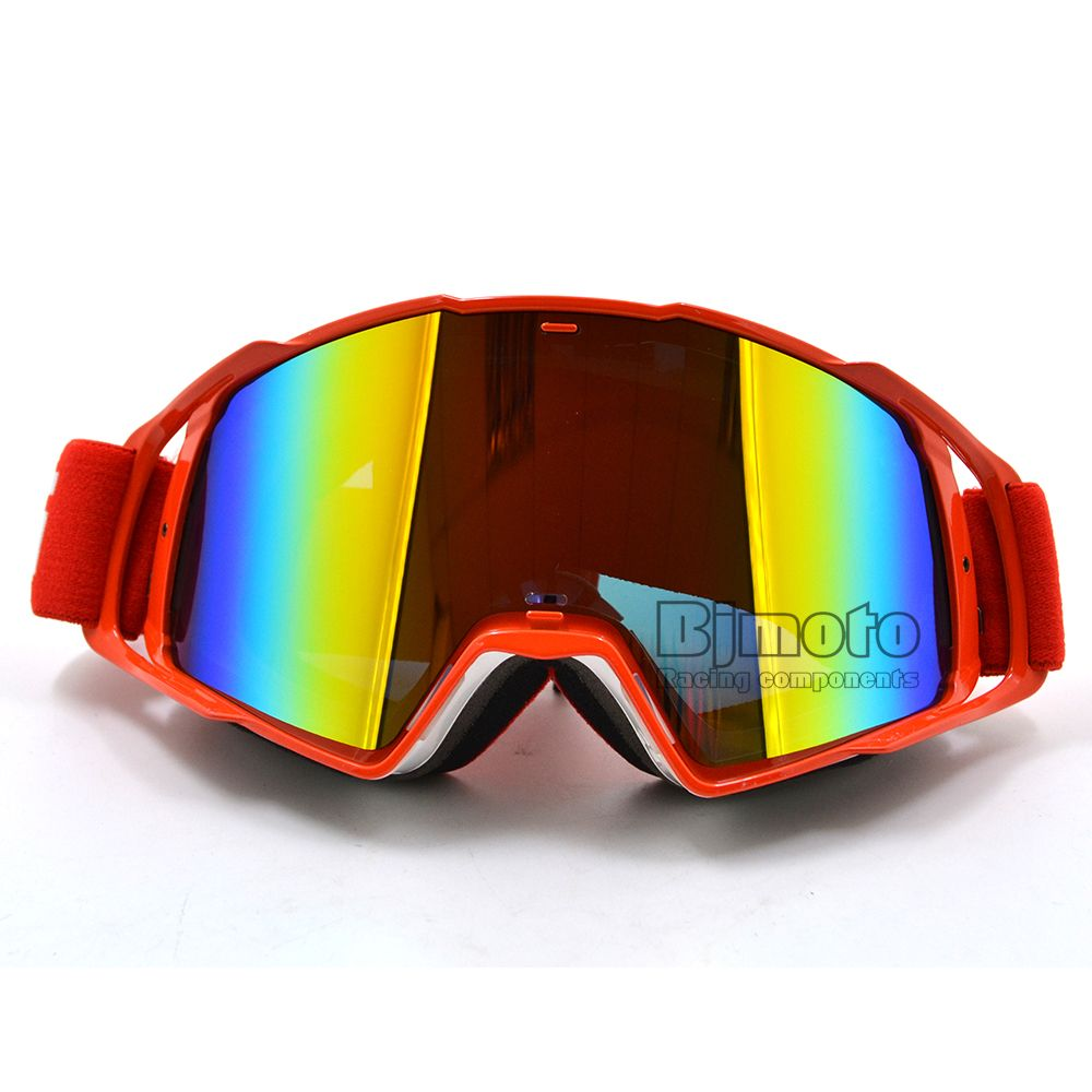 e83d937ce9 MG-021A-WH-RD Color Lens Goggle Off Road Motocross Goggles Glasses  Motorcycle