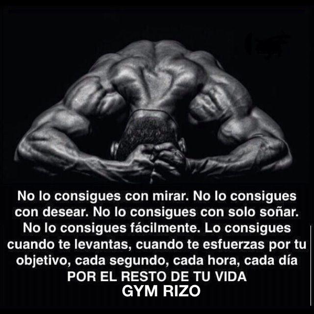 Recopilación Frases De Motivación Gym Rizo Motivation