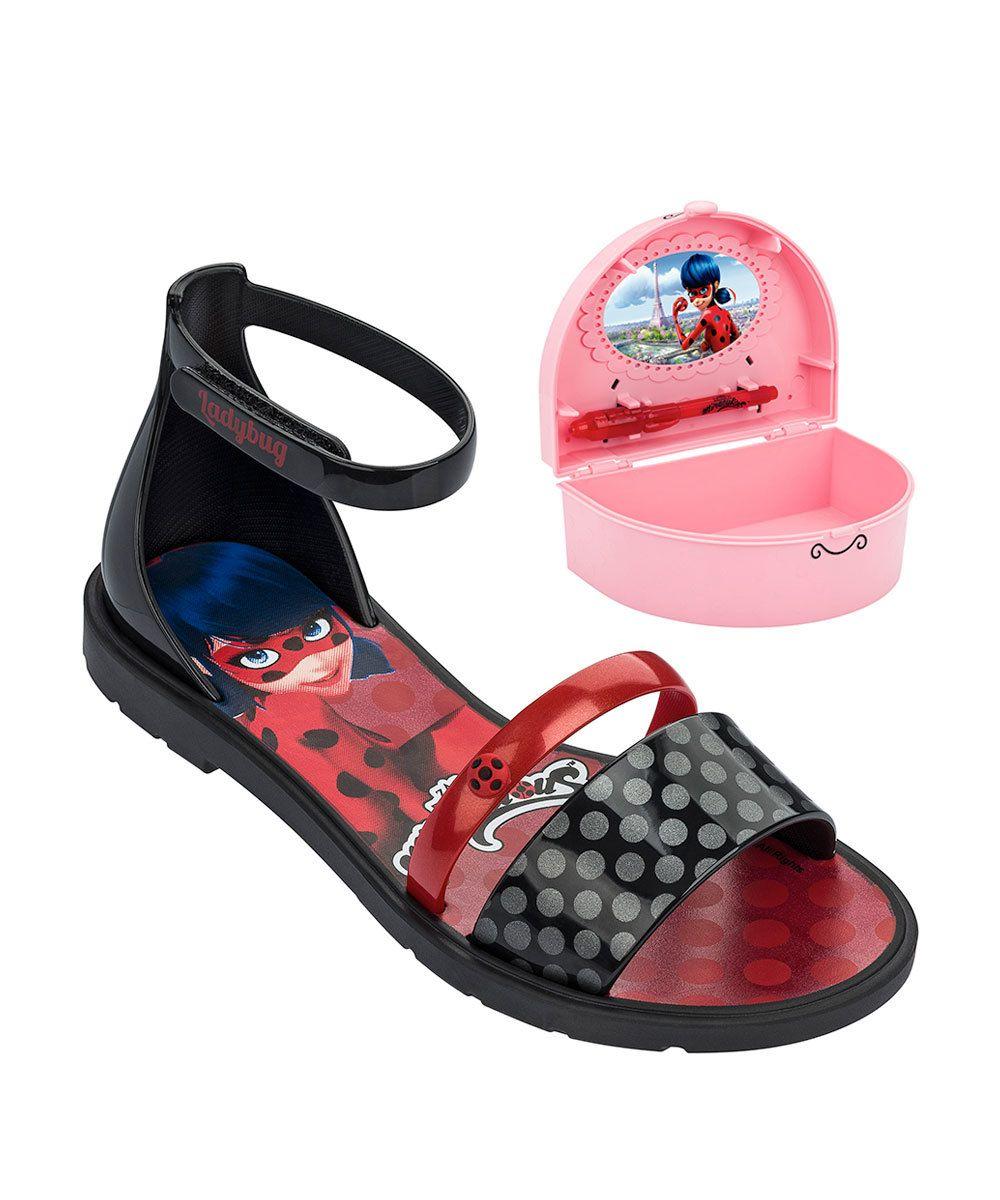 0893f73723 Image Sandália Infantil Ladybug Brinde Grendene Kids