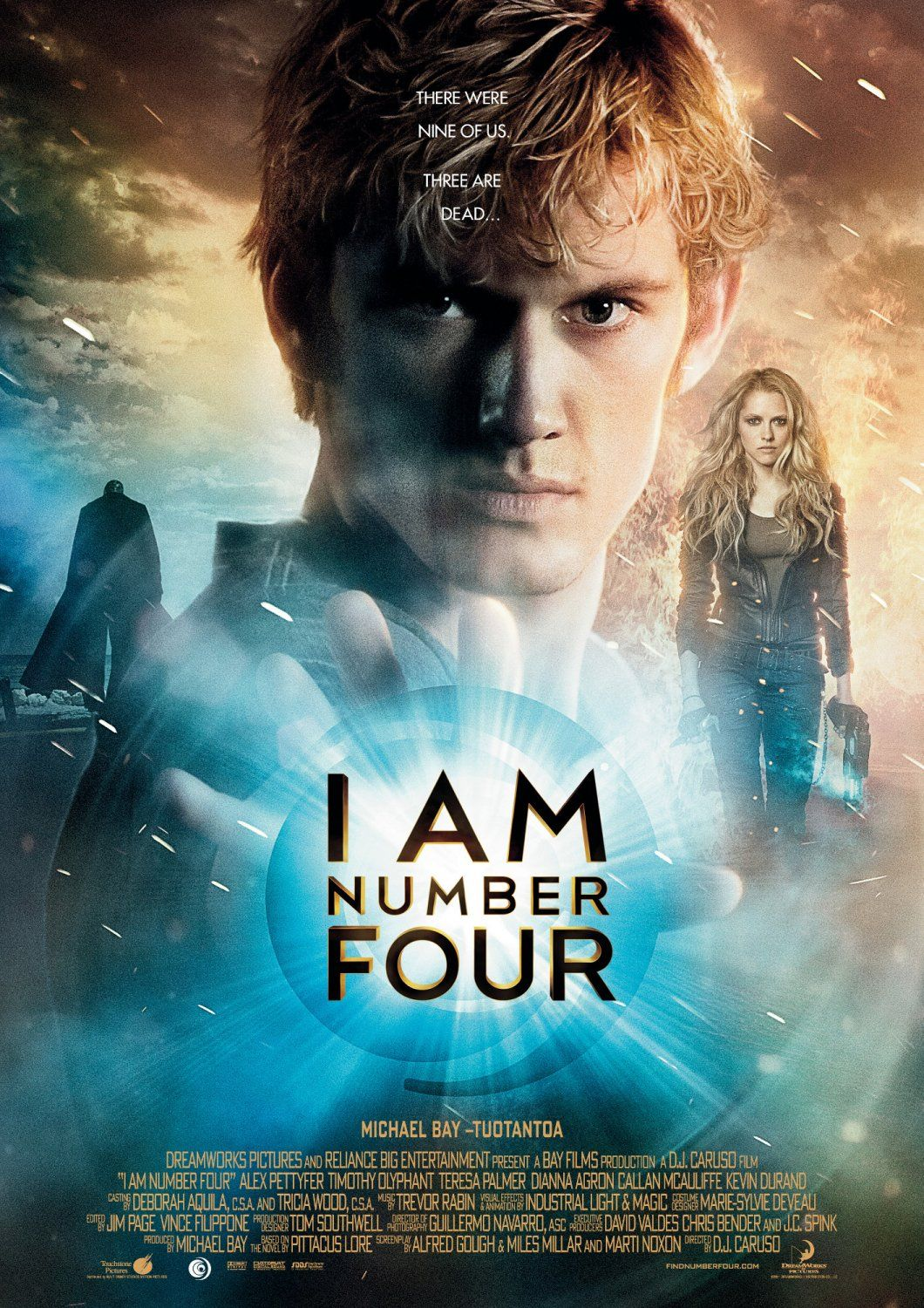 I Am Number Four: Extra Large Movie Poster Image ...
