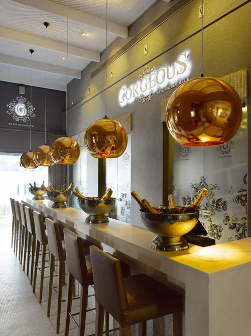 The luxurious sparkling wine bar, Gorgeous By Graham Beck