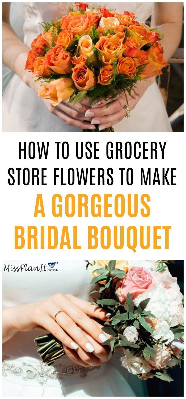 DIY Vintage Fresh Flower Bridal Bouquet for Under $35 ...