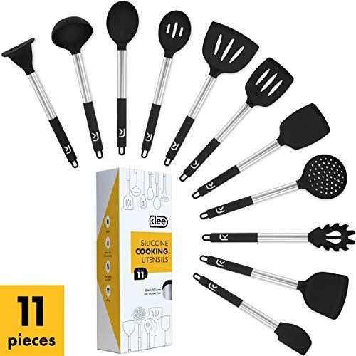 Klee Silicone Cooking Utensil Set 11 Pc Silicone Kitchen