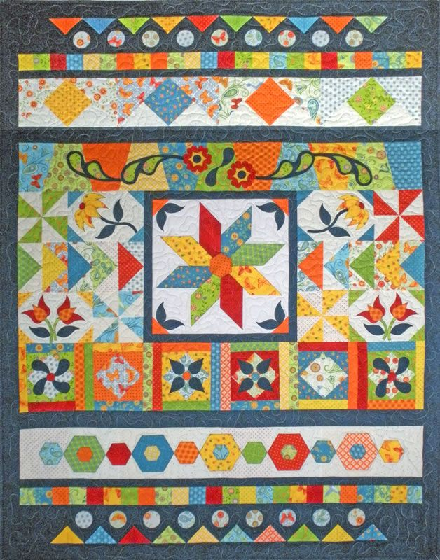 Quilt Sampler carries an extensive collection of quilting supplies ... : complete quilt kits - Adamdwight.com