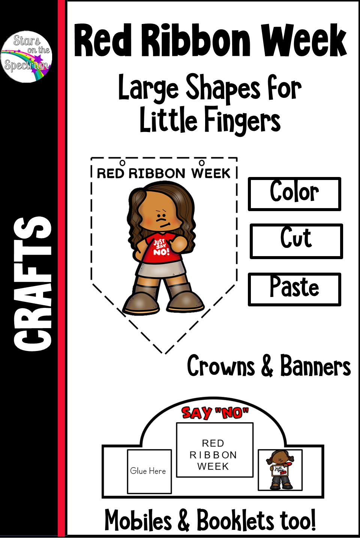 Red Ribbon Week Crafts Red Ribbon Week Mini Booklet Red Ribbon [ 1440 x 960 Pixel ]