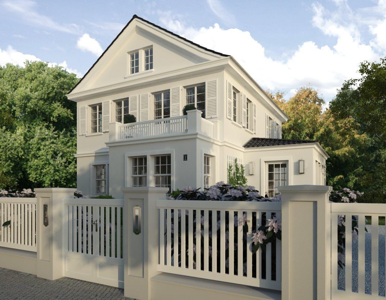 villa amalia tor mit briefkasten und klingelanlage ein wundersch nes schlichtes. Black Bedroom Furniture Sets. Home Design Ideas