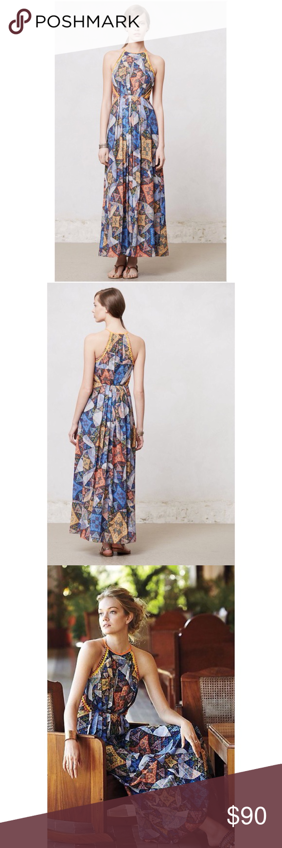 78fde2adb2f1 Anthropologie Ranna Gill Condesa Maxi Dress This dress is in perfect  condition. Never been worn