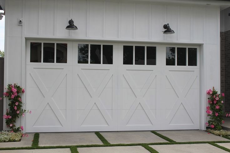 Garage Door Security Ideas And Pics Of Garage Doors Parts Lowes Garagedoors Garage Garageorganization Carriage Garage Doors Garage Doors Double Garage Door