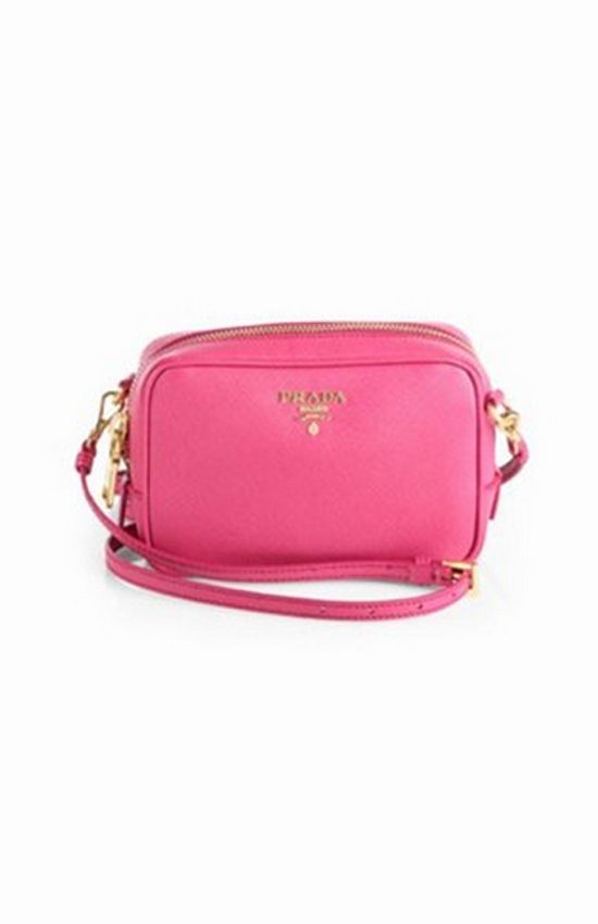 9acc35c38472 Click, click, click, flash. - Prada Saffiano Camera Crossbody Bag ...