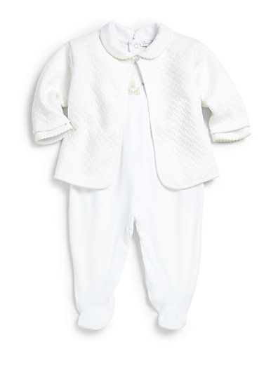 8e8efc60430c Kissy Kissy - Infant s Two-Piece Baby Pram Jacquard Footie   Jacket ...