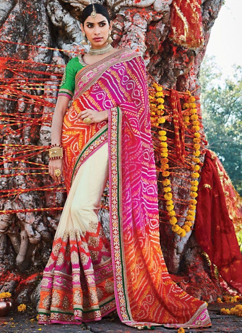 Designer Saris online shopping in USA UK Canada Buy Sterling Multi ...