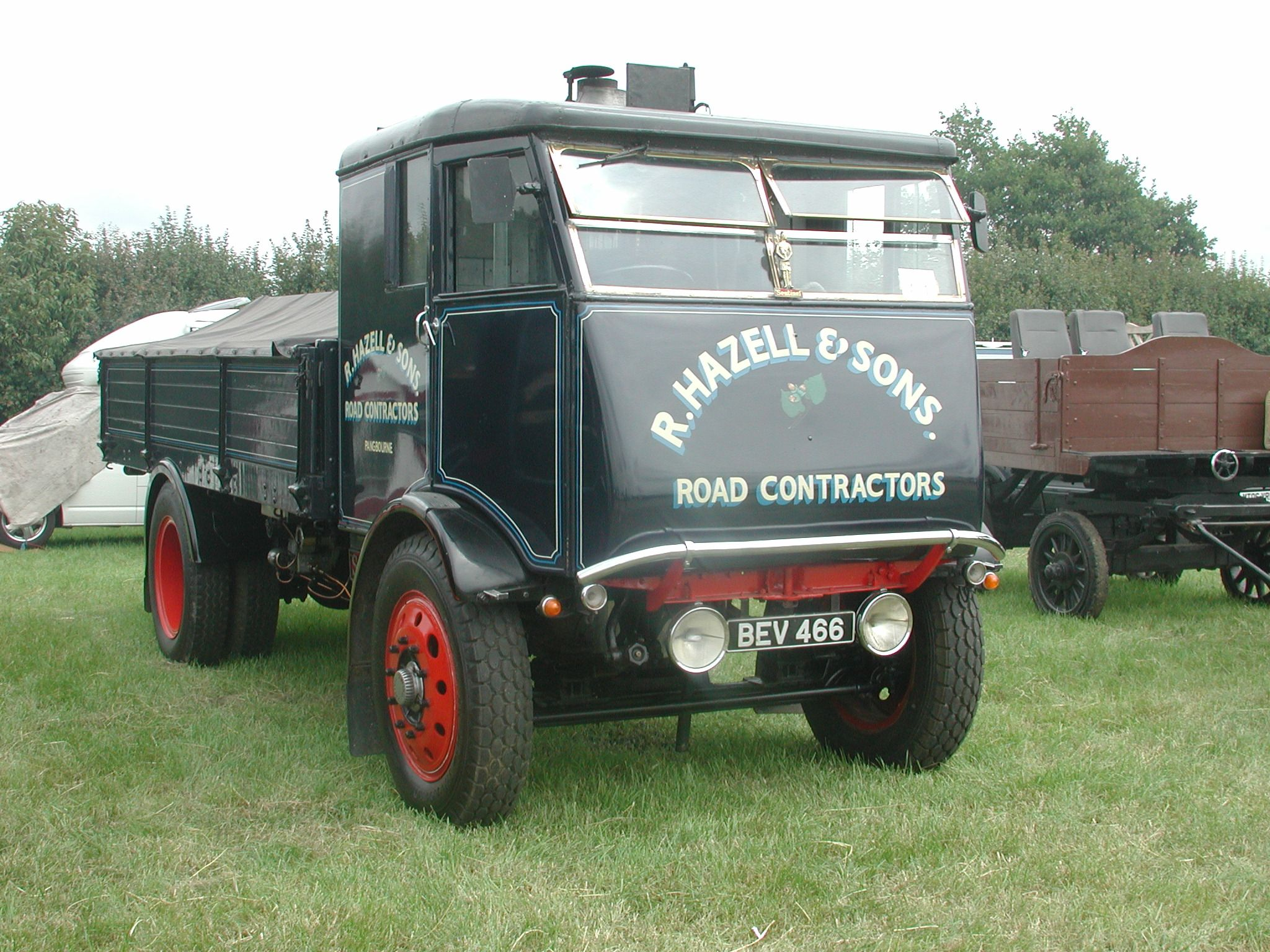 Vintage transport - Sentinel Steam Lorries at Woodcote Rally, South ...