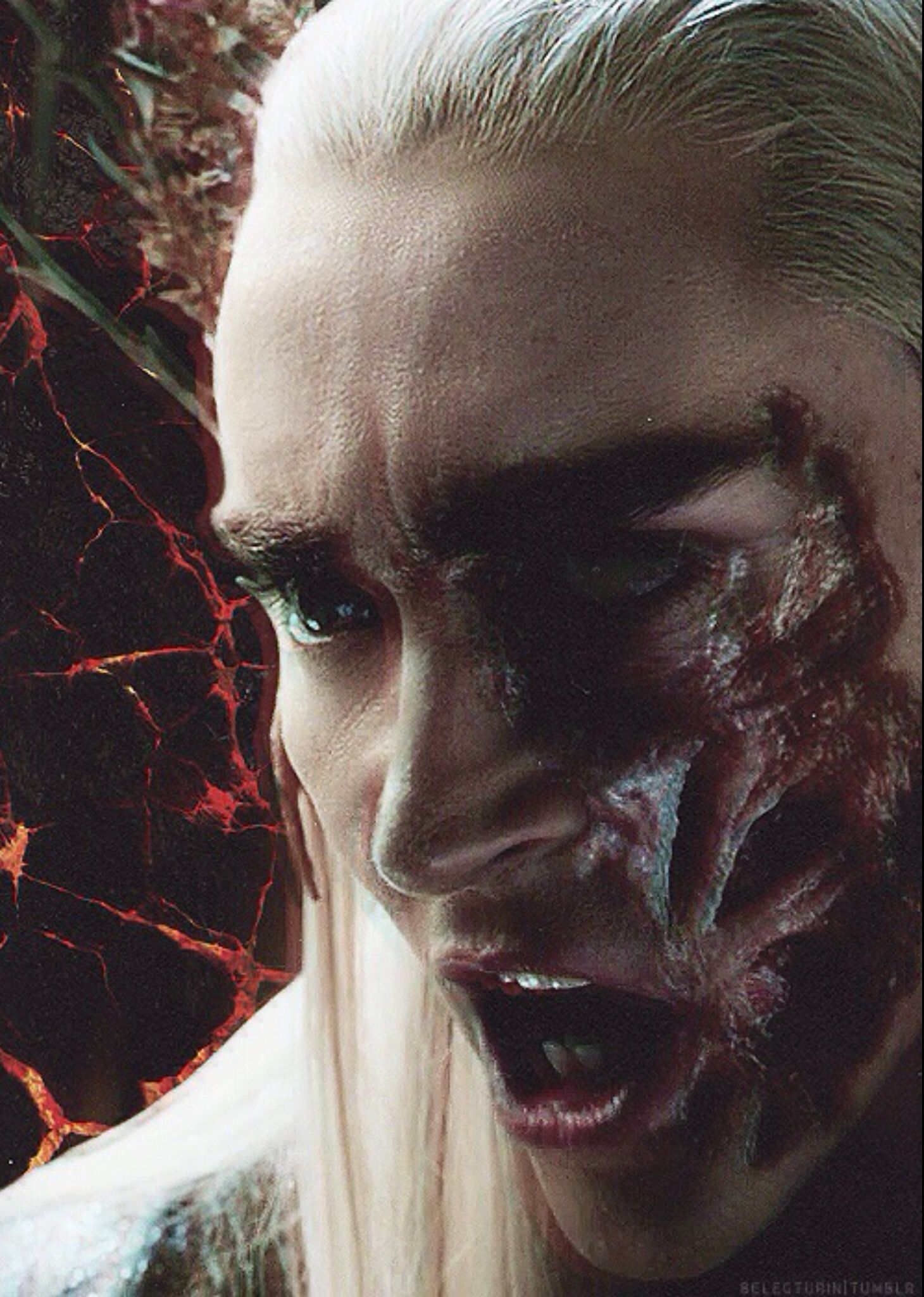 Thranduil...is it weird i still find him incredibly attractive even with this face...? <3