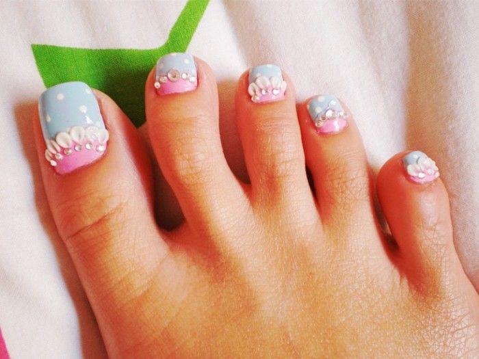 Toe Nail Art Designs Tumblr Pretty Piggies Toe Nail Art