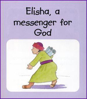Elisha, a messenger for GOd | Bible Lesson & Craft for Toddler