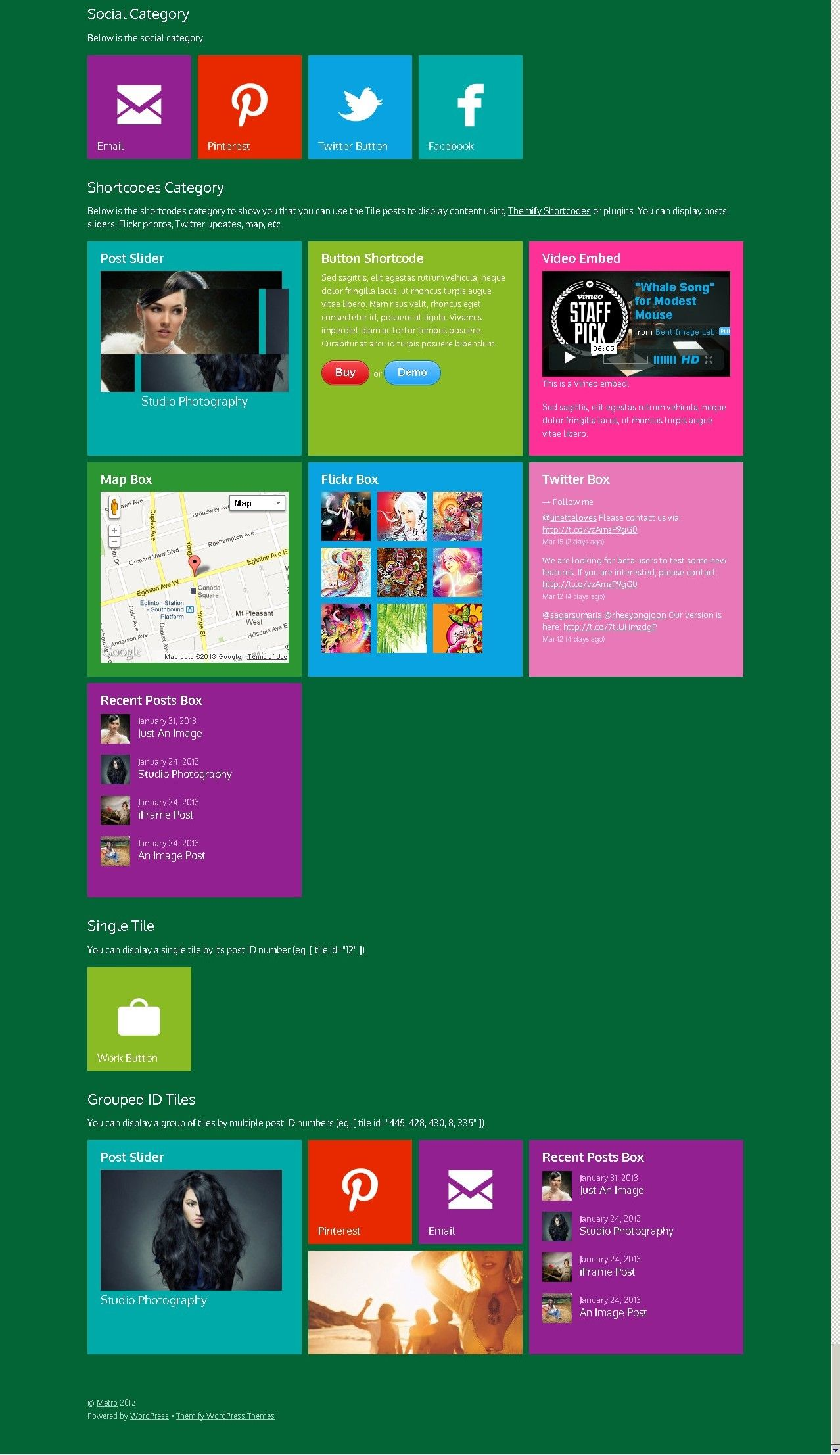 Metro Style Website Template To Power Your Site Gentleninja Com Website Template Metro Style Templates