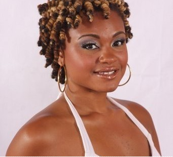 super cute bantu knot out  short natural hairstyles